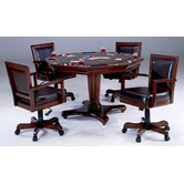 Ambassador 5 Piece Game Table Set