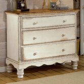 Wilshire 3 Drawer Nightstand