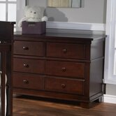 Torino Double 6 Drawer Dresser