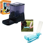 Automatic Pet Feeder and Portable Water Dish