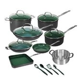 17-Piece Non-Stick Cookware Set