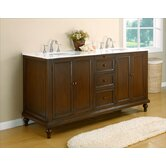 Classic 70&quot; Double Bathroom Vanity