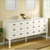 Harvest 70&quot; Double Bathroom Vanity