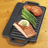 Pre-Seasoned Reversible Grill Pan and Griddle