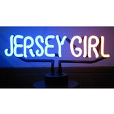 Jersey Girl Neon Sculpture