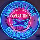 Smith-O-Line Gasoline Neon Sign
