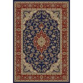 Barclay Navy Medallion Kashan Rug