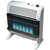 30000 BTU Natural Gas Blue Vent Free Wall Mount Heater