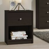 Portland Bedroom 1 Drawer Nightstand