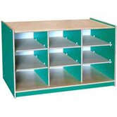 Classroom Color 9 Cube Storage Unit