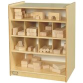 Easy Roll Block Storage Unit