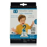 Cypher Kids Club Numbers i3D Interactive Cards