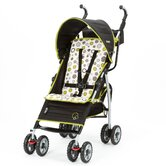 Ignite Stroller in Abstract O's in Black / Green