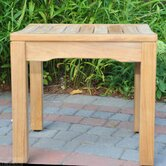 Teak Rosemont Backless Garden Bench