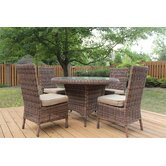 Del Ray 5 Piece Dining Set