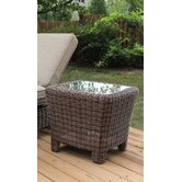 Del Ray Wicker End Table