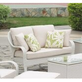 Bahia Wicker Loveseat