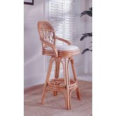 South Sea Rattan Bar Stools