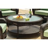 Key West Round Wicker Chat Table