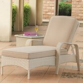 Bahia Wicker Chaise Lounge