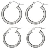Hoop Earrings (Set of 2)