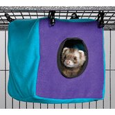 Ferret Nation Accessories Cozy Cube in Teal and Purple