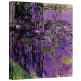 ''Lavender Water Lillies'' by Claude Monet Original Painting on Canvas