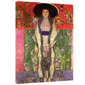 Gustav Klimt ''Adele Bloch Bauer'' Canvas Art