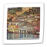 "Gustav Klimt ""Malcesina at Gardasee"" Canvas Wall Art"