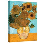 Vincent Van Gogh ''Vase with Twelve Sunflowers'' Canvas Art
