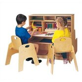 Mini 36&quot; W Script-n-Skills Station Children's Desk