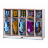 5 Section Toddler Coat Locker