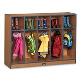 SPROUTZ&reg; Toddler Coat Locker - 5 Sections