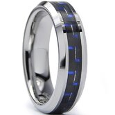 Tungsten Comfort Fit  Band