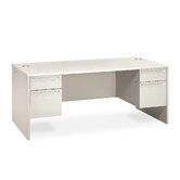 "38000 Series 72"" W Double Pedestal Executive Desk"