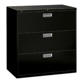 600 Series 42&quot; W Three-Drawer Lateral File