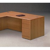 "10700 Series 72"" W Right Pedestal Executive Desk"