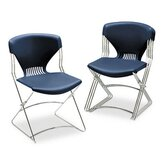 Olson Flex Stacker Chair, Navy, Four/Carton