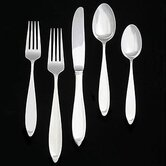 New Oberon 5 Piece Flatware Set