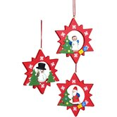 Assorted Stars Ornament (Set of 6)