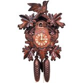 Cuckoo Clock with 8 Day Weight Driven Movement and Leaf Detail