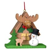 Christian Ulbricht Tiny Snowman with an ELK Ornament