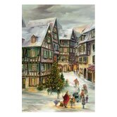 Village Christmas Advent Calendar