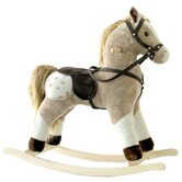 Small Plush Rocking Horse
