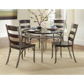Bordeaux 5 Piece Dining Set