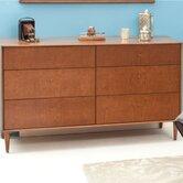 Midcentury 6 Drawer Dresser