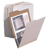 Vertical Flat Folder (Set of 10)