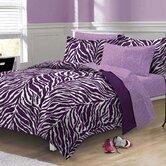 Zebra Bed Set