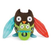 Hug and Hide Owl Stroller Toy