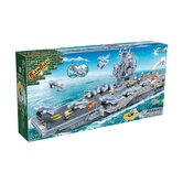 2580 Piece Aircraft Carrier Block Set